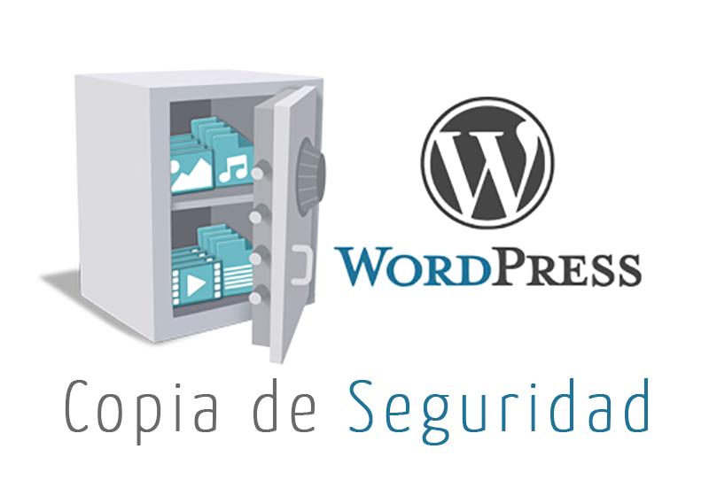 Como realizar una copia de seguridad en WordPress